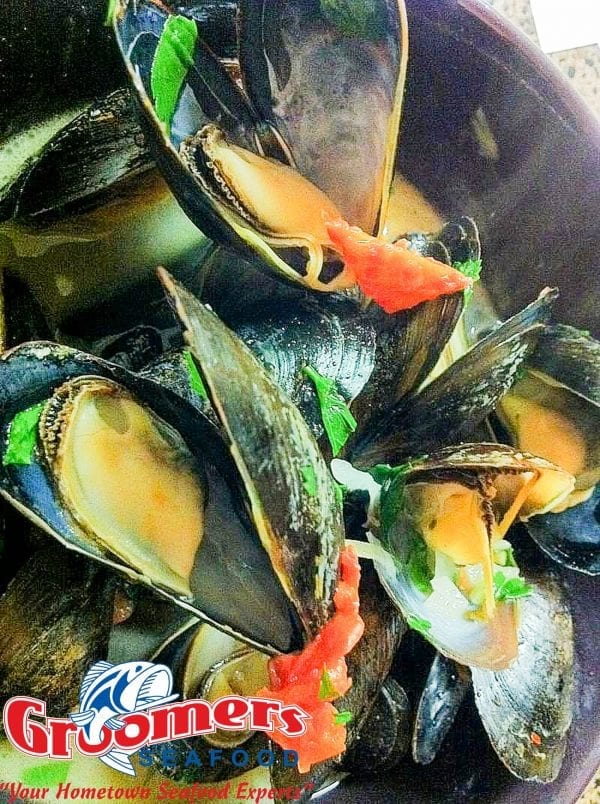 Drunken Mussels- Mussels Steamed in Wine