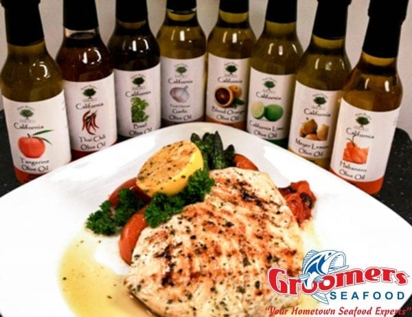 Infused Olive Oil Grilled Swordfish