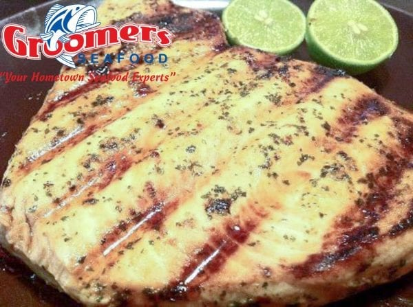Grilled Honey – Key Lime Glazed Swordfish