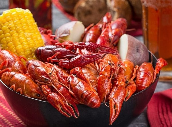 Crawfish Boiled