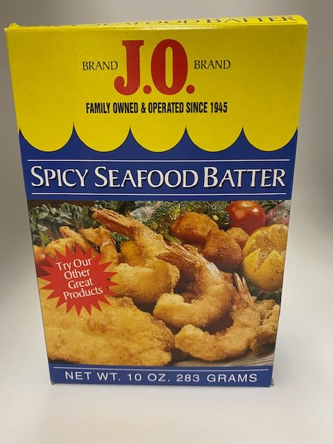Spicy Seafood Batter