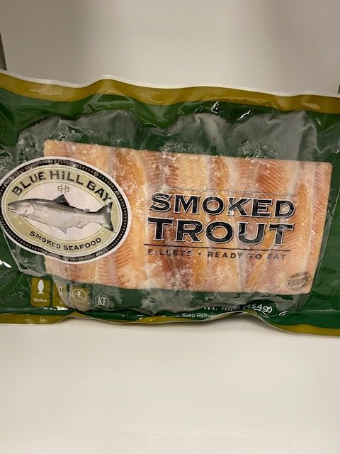 Frozen Smoked Trout Fillets