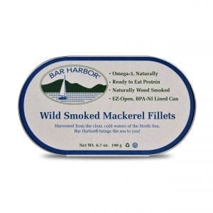 Wild Smoked Mackerel Fillets