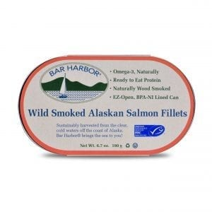 Wild Smoked Alaskan Salmon Fillets